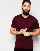Farah Knitted Polo with Short Sleeves