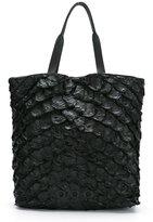OSKLEN leather tote bag - women - Pirarucu Skin - One Size