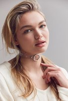 Urban Outfitters Clear Ring Choker Necklace