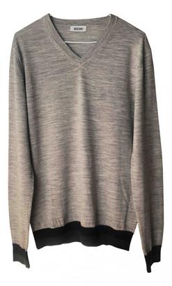 Moschino Grey Wool Knitwear & Sweatshirts
