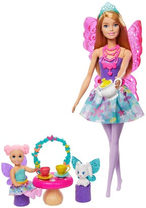 Mattel Barbie(TM) Dreamtopia Tea Party Playset with Barbie(R) Fairy Doll