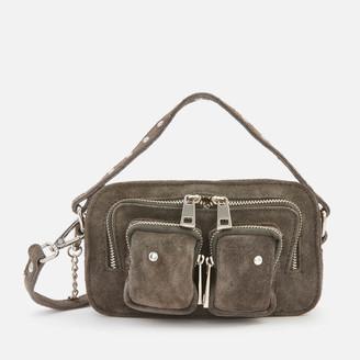 Nunoo Women's Helena Suede Cross Body Bag - Grey