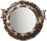Asstd National Brand Distressed Stag Wall Mirror