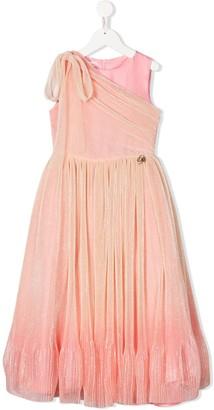 Miss Blumarine Chiffon Dress