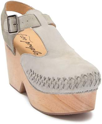Free People Emmer Whipstitched Clog