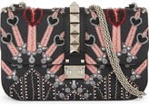 Valentino Medium leather embellished heart cross-body bag