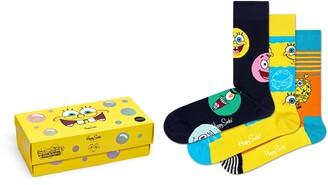 Happy Socks x SpongeBob 3-Pack Socks