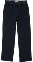 Jigsaw Girls' Mini Relaxed Crepe Trousers, Navy
