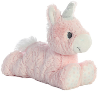 On Ebba Magical Unicorn Stuffed Animal, Luvster, Ride & Dress Up Bundle