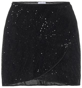 Oseree Exclusive to Mytheresa Marilyn sequined miniskirt