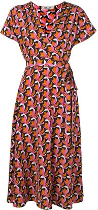Dvf Diane Von Furstenberg Kelsey stretch-georgette wrap dress