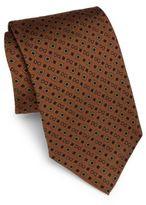 Dolce & Gabbana Logo-Print Silk Tie
