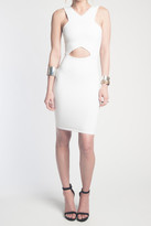 Donna Mizani V Strap Cut Out Mini Dress
