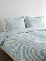 Melange Home Bamboo Stripe Duvet Set