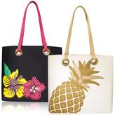 Avon Tropical Applique Tote