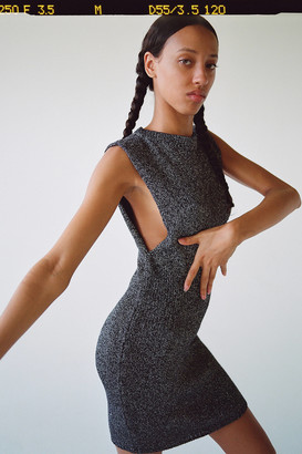 Urban Outfitters Emanuelle Sparkly Sleeveless Mini Dress