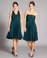 In One Clothing Forest Green Multiway Dress