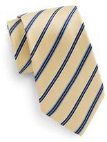 Saks Fifth Avenue Boxed Striped Silk Tie