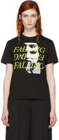 McQ by Alexander McQueen Black falling T-shirt