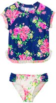 Hula Star Girls' Romance Rashguard Two Piece Set (2yrs6yrs) - 8138126