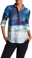 Robert Graham Siren Embroidered Print Woven Shirt