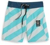 Volcom Toddler Boy's Stripey Jammer Board Shorts