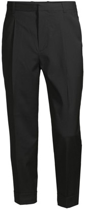 3.1 Phillip Lim Pleated Virgin Wool Tapered Trousers