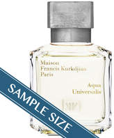 Francis Kurkdjian Sample - Aqua Universalis EDT by Paris (0.7ml Fragrance)