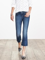 Banana Republic Medium Wash Crop Flare