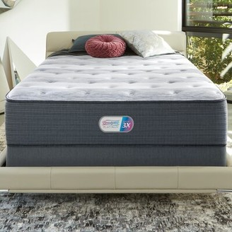 "Simmons Platinum 14"" Medium Innerspring Mattress Mattress Size: California King, Box Spring Height: Low Profile"