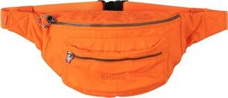 Supreme x Barbour waxed cotton belt bag