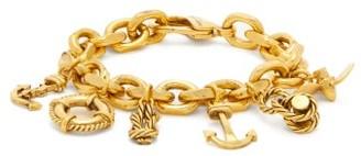 Saint Laurent Nautical-charm Bracelet - Gold