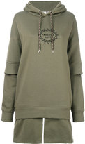 Aalto oversized hoodie - women - Cotton/Viscose - 34