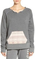 Rip Curl Surf Bandit Mixed Media Sweatshirt