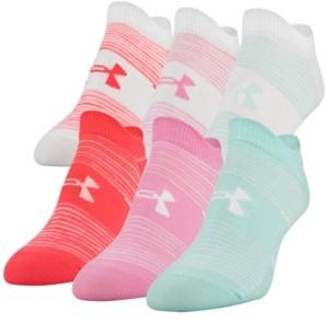 Under Armour Women's 6-Pk. Essential No-Show Socks