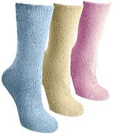 Muk Luks Women's Crew Aloe Socks (3 Pair)