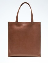 Banana Republic Portfolio Structured Tall Leather Tote
