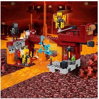 Lego Minecraft 21154 The Blaze Bridge with Alex and Skeleton Figures