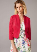 Thumbnail for your product : Phase Eight Clementine Textured Occasion Jacket