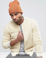 Puma Archive No 1 Beanie In Orange Exclusive To Asos 02142801