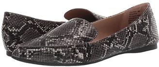 Steve Madden Feather (Blush Snake) Women's Flat Shoes