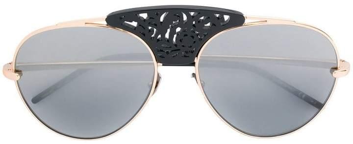 Pomellato Eyewear embellished bridge sunglasses
