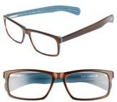 Eyebobs Men's Eyebob I'M Right 56Mm Reading Glasses - Tortoise Blue Inside