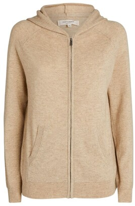 Chinti and Parker Cashmere Zip-Up Hoodie