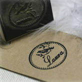 S.t.a.m.p.s. Pretty Rubber Bird Design Personalised Rubber Stamp