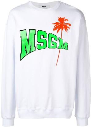 MSGM PalmTree sweatshirt