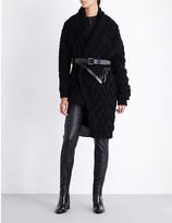 A.F.Vandevorst Tomorrow belted wool cardigan