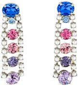Tom Binns Crystal & Faux Pearl Drop Earrings