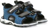 DSQUARED2 denim touch strap sandals