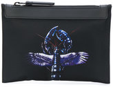 Lanvin winged lobster detail clutch bag